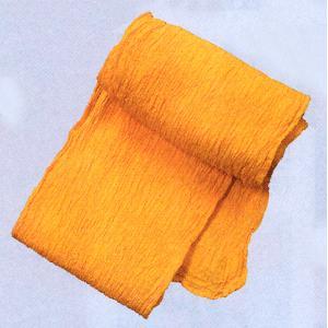 巻き帯 まき帯 兵児帯 巻帯 祭り 踊り 帯 浴衣 ゆかた 縮み加工済み 330cm 黄 よさこい|kameya