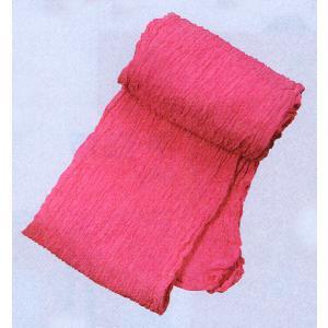 巻き帯 まき帯 兵児帯 巻帯 祭り 踊り 帯 浴衣 ゆかた 縮み加工済み 330cm ピンク よさこい|kameya