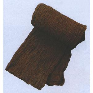 巻き帯 まき帯 兵児帯 巻帯 祭り 踊り 帯 浴衣 ゆかた 縮み加工済み 330cm 茶 よさこい|kameya