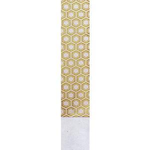 角帯 男物 3寸帯 メンズ角帯 踊り帯 袴下帯 祭り 盆踊り 帯 浴衣 11×350cm 白 亀甲 kameya
