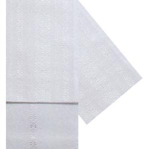 献上柄四寸帯 幅15cm×長さ350cm 白地 白柄 定格献上の半幅帯 踊り帯 日本舞踊 歌舞伎 舞台 ステージ用帯 着物 和装 浴衣帯|kameya
