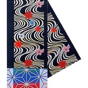 袋帯 踊り 帯 八寸袋帯 着物帯 日本舞踊 成人式 30×460cm 黒 流水 桜 梅|kameya