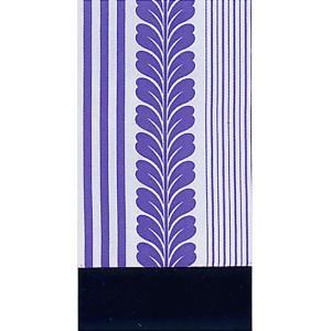 昼夜帯 くじら帯 踊り 帯 昼夜 日本舞踊 成人式 30×490cm 長尺 白 菫 縞 藤 親子縞|kameya