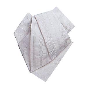 後見帯 作り帯 後見結び帯 踊り 帯 着物 白 白献上柄 日本舞踊 歌舞伎 成人式|kameya