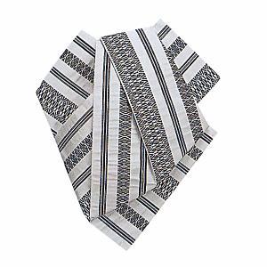 後見帯 作り帯 後見結び帯 踊り 帯 着物 白 黒献上柄 日本舞踊 歌舞伎 成人式|kameya