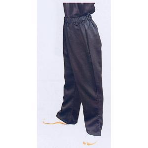 ゴムパンツ(ブラック) まつり用ズボン 舞台 ステージ スポーツ ウオーキング用ゆったりパンツ 祭りボトムス 祭り用品 祭り衣装|kameya