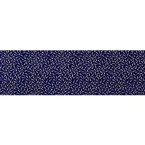 極細小紋染手拭い(長さ100cm・紺/めだか) 裏側まで染まったお値打ち手拭い 祭り 踊り手ぬぐい 実用ハンカチ ハンドタオル布巾 祭り用品|kameya