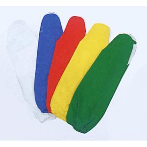 カラー手甲1対(ゴム入り/緑・黄・赤・青・白有り) 祭り用リストバンド まつりブレスレッド 祭衣装 祭り用品|kameya