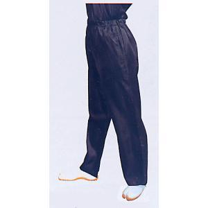 サテンストレートパンツ(ブラック) まつり用ズボン よさこい衣裳 舞台 ステージ 踊り用ゆったりパンツ 祭りボトムス 祭り用品 祭り衣装|kameya