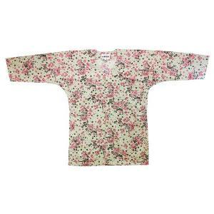鯉口シャツ 祭り ダボシャツ メンズ レディース グレー地 唐獅子 鯉口シャツ 祭り用品|kameya