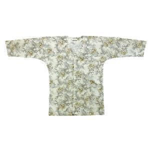 鯉口シャツ 祭り ダボシャツ メンズ レディース クリーム 雷神 祭り用品 鯉口シャツ|kameya