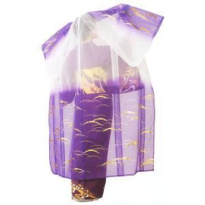 被衣 かつぎ かずき 踊り 衣被 きぬ かつぎ 日本舞踊 歌舞伎 紫 雪芝|kameya