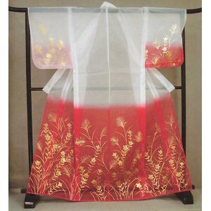 被衣(かつぎ・かずき) 赤ぼかし/ススキ/桔梗 踊り・舞台ステージ用衣被(きぬかつぎ・きぬかずき) 日本舞踊・歌舞伎用の被衣|kameya