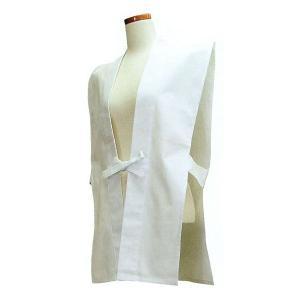 背紋入りの神前用簡易羽織(白)を10枚より、納期約45日にて承ります。ご注文の際に、背紋名と色(赤ま...