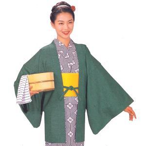 茶羽織 ちゃばおり 肩裏付き メンズ レディース 旅館 ホテル 洗える着物|kameya