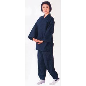 作務衣 メンズ レディース 久留米織 さむえ ユニフォーム 久留米織作務衣|kameya
