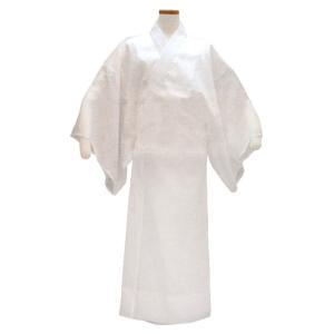 長襦袢 和装下着 和装肌着 男性 メンズ 夏用 抗菌クレープ 洗える長襦袢 白 M L LL|kameya