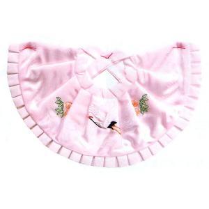 お宮参り用よだれかけ(女児用/ピンク) お宮参りアイテム お祝い 出産祝い 子供の祝い ベビー用品|kameya