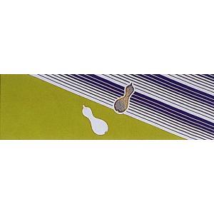 手拭い 祭り 手ぬぐい 手拭 踊り てぬぐい 本染め 粗品 お年賀 110cm 瓢箪 縞|kameya