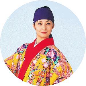 鉢巻 踊り 小道具 琉球 舞踊 衣装 紫 沖縄 衣裳 鉢巻 紫 長巾 鉢巻 はちまき 小物 kameya