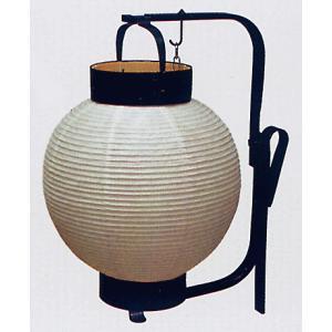 丸型弓張提灯(無地) ご希望で名入れ可能 祭り提灯 舞台/時代劇/ステージ用ちょうちん インテリア 祭用品|kameya