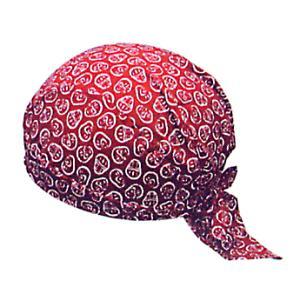 バンダナキャップ エンジ だるま おしゃれな祭用布帽子 ヘアーキャップ 祭小物 まつり頭巾 祭り用品|kameya