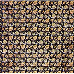 生地 布地 手芸 材料 はぎれ 祭り 衣装 小物 人形 切り売り 70×1m 黒 毬|kameya