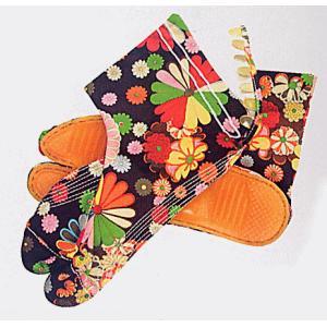 足袋 祭り たび 祭足袋 地下足袋 祭り足袋 カラフル 黒 菊 5枚鞐 7枚鞐 まつり 祭り用品|kameya
