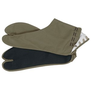 足袋 たび メンズ 朽葉色 底黒 舞踊足袋 踊り足袋 4枚鞐 着物 カラー足袋 kameya