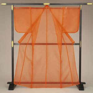 【在庫限定】被衣(かつぎ・かずき) オレンジ/無地 踊り・舞台ステージ用衣被(きぬかつぎ・きぬかずき) 日本舞踊・歌舞伎用の被衣|kameya