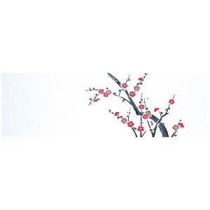 手拭い 踊り 手ぬぐい 祭り 手拭 日本 てぬぐい 舞踊 小道具 注染 113cm 梅の木|kameya