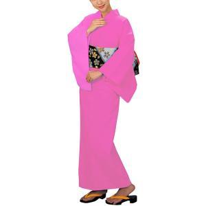 カラー浴衣(納期約35日・女物仕立て上がり・全9色) 高級コーマ生地のカラーゆかた 盆踊り 夏祭り 花火大会 イベント用浴衣 祭り浴衣|kameya