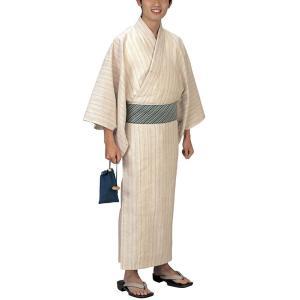 浴衣 ゆかた メンズ 男物 盆踊り 祭り ユカタ 踊り イベント レトロ浴衣 矢鱈縞|kameya