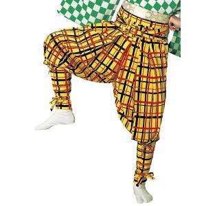 たっつけ袴 女性 レディース 祭り 踊り はかま 手古舞 獅子舞 大道芸 たっつけ袴 矢鱈格子 赤 黒|kameya