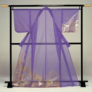 被衣 かつぎ かずき 踊り 衣被 きぬ かつぎ 日本舞踊 歌舞伎 紫 青海波 霞 金箔|kameya