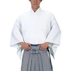 袴下着物(Lサイズ・白) 足元すっきり袴専用着物 成人式 卒業式 日本舞踊 舞台ステージ用袴下着物 手古舞衣裳きもの|kameya