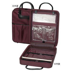 着物バッグ 和装バッグ 衣裳鞄 衣装バッグ 着物鞄 和装かばん 高級 エンジ|kameya