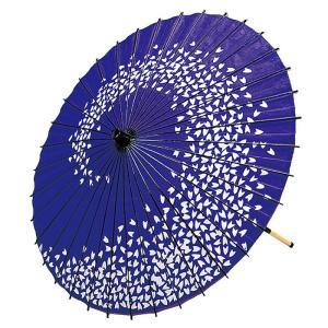 舞踊傘 踊り傘 紙傘 紙舞傘 番傘 歌舞伎 日本舞踊 踊り 小道具 舞傘 和傘 紫 桜 渦巻き|kameya