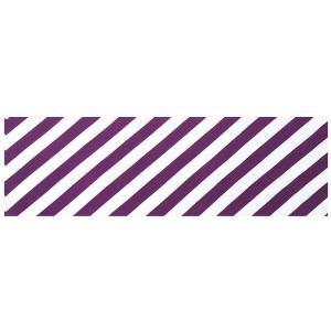 手拭い 踊り 手ぬぐい 祭り 手拭 日本 てぬぐい 舞踊 小道具 注染 105cm 斜め縞 紫|kameya