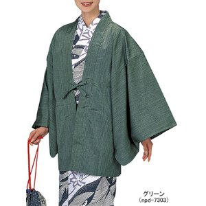 茶羽織 ちゃばおり ノスタルジー メンズ レディース 旅館 ホテル 洗える着物 全5色|kameya
