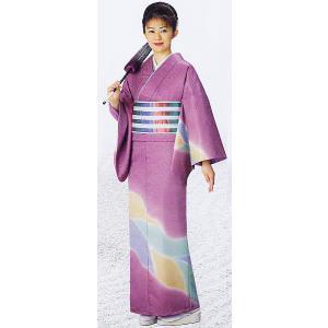訪問着 着物 反物 女性 男性 踊り 絵羽 訪問着 ぼかし 洗える着物 若紫|kameya