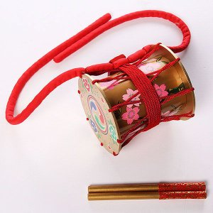 羯鼓 金 かっこ 日本舞踊 日舞 歌舞伎 小道具 踊り 舞台 バチ付 金羯鼓|kameya