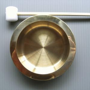 当り鉦(小/撞木付) 祭り楽器 鳴り物 まつり用品 お囃子/舞台/ステージ用小道具|kameya