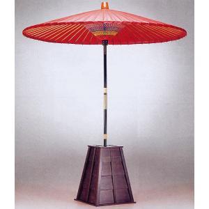 野点傘(中・直径140cm×柄の長さ200cm) 野点用褄折れ傘 茶道具 茶席用傘 甘味処傘 オリエンタルオブジェ ギャラリーインテリア kameya