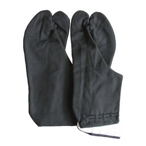 黒足袋(黒布底) 黒底黒木綿足袋 舞踊カラー足袋 踊り足袋 色足袋 着物 和装足袋 舞台 ステージ足袋 {nmd-5018}|kameya