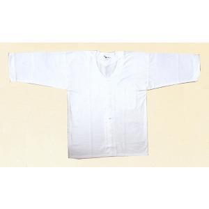 ダボシャツ 祭り メンズ レディース 鯉口シャツ 白 天竺 踊り 祭り用品|kameya
