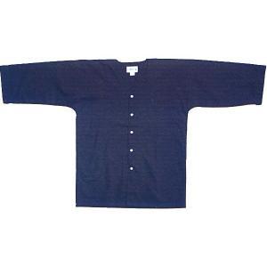 ダボシャツ 祭り メンズ レディース 鯉口シャツ 紺 天竺 踊り 祭り用品|kameya
