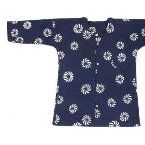 鯉口シャツ 祭り ダボシャツ メンズ レディース 浴衣地 獅子毛 鯉口シャツ 祭り用品|kameya