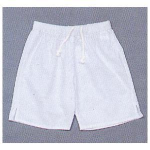 祭り パンツ ゴム 半パンツ 祭パンツ 短パン ショートパンツ メンズ レディース 白 nmd-5180|kameya