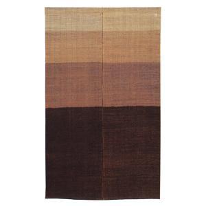 のれん 暖簾 おしゃれ 和風 ロング 麻 夏用 のれん 90×150cm ぼかし 本染暖簾|kameya